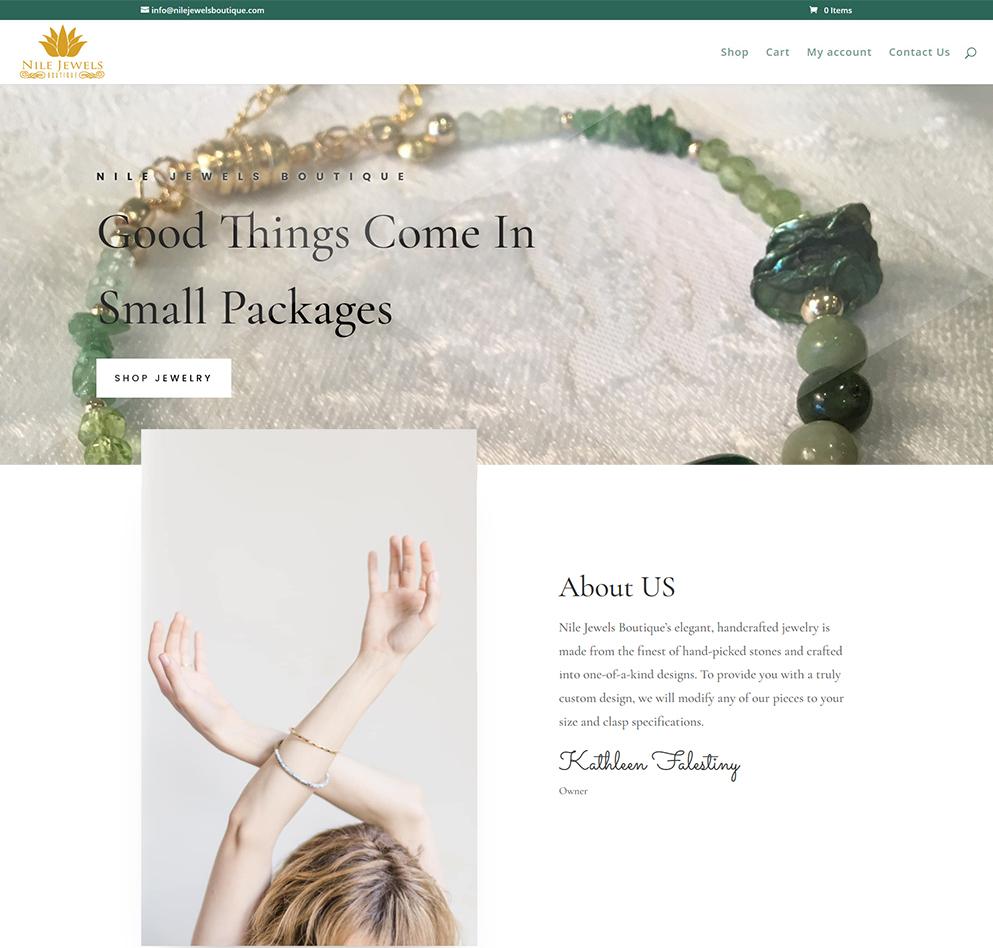 Nile Jewels Website